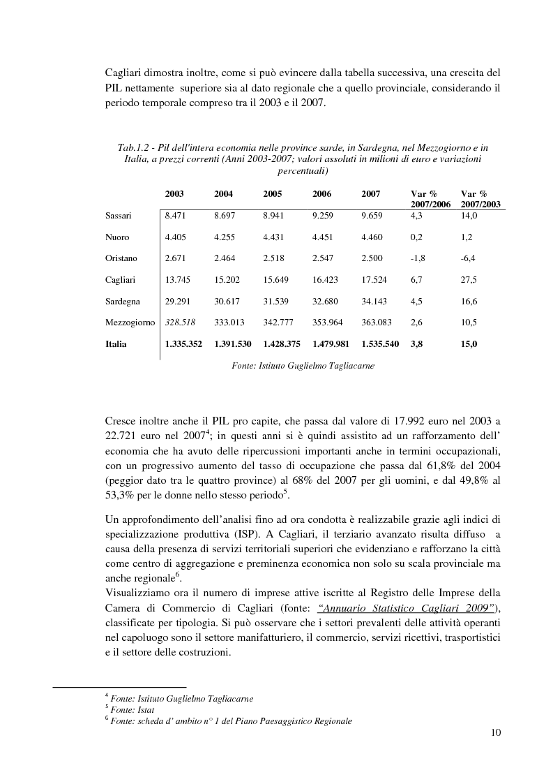 Anteprima della tesi: Valutazione ambientale strategica del piano regolatore portuale di Cagliari, Pagina 7