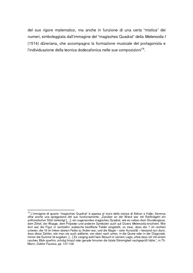 Anteprima della tesi: Thomas Mann e Adrian Leverkühn. L'ideazione del romanzo «Doktor Faustus» tra Wagner, Adorno e Schönberg, Pagina 9