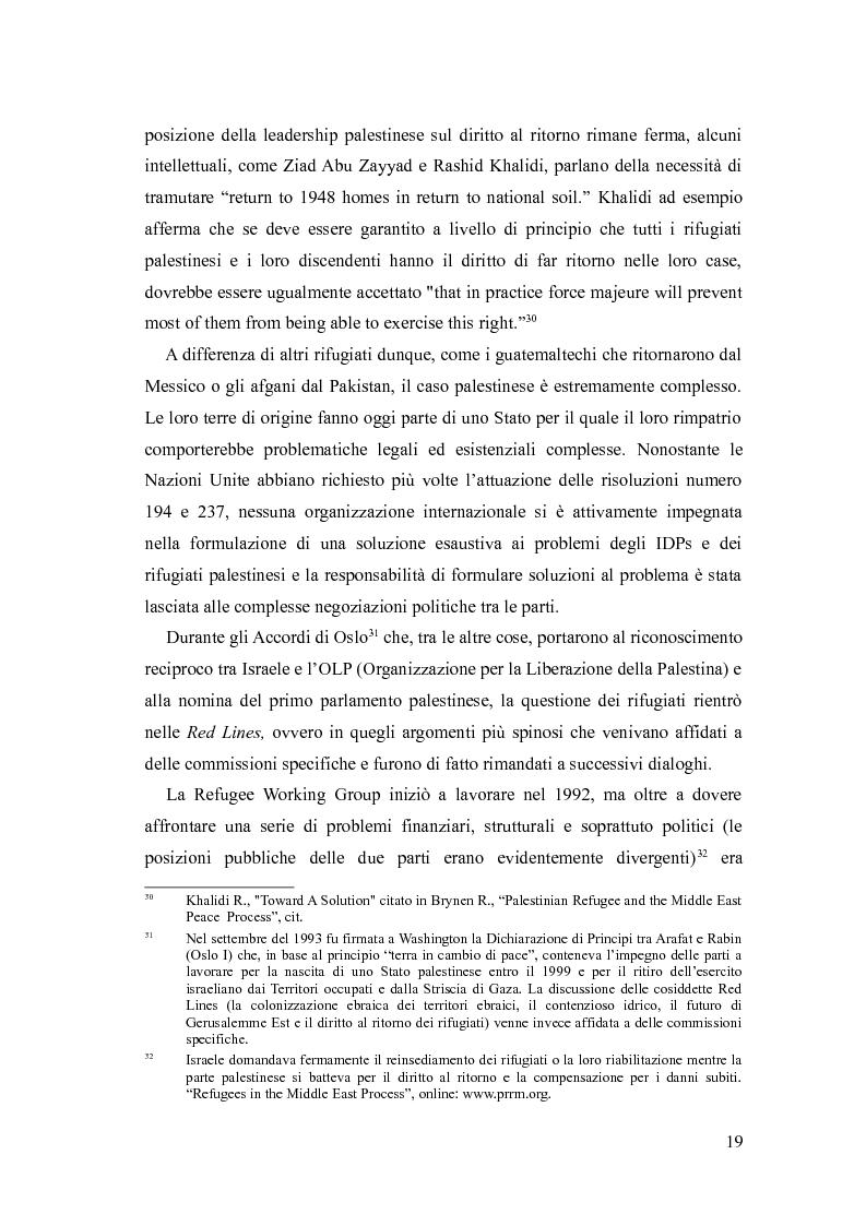 Anteprima della tesi: Identità, marginalizzazione e conflitto nei campi profughi palestinesi in Libano. Il campo di Nahr el-Bared., Pagina 11