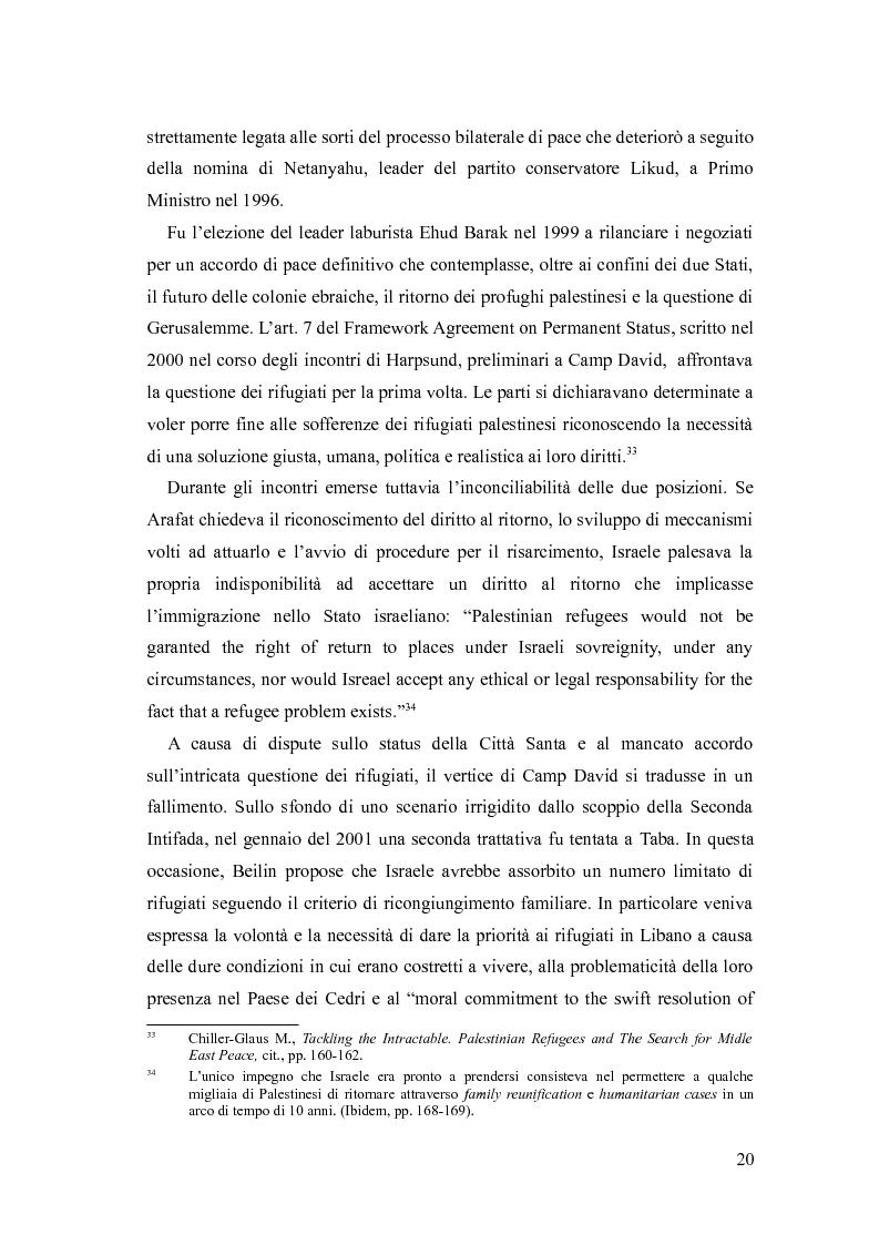 Anteprima della tesi: Identità, marginalizzazione e conflitto nei campi profughi palestinesi in Libano. Il campo di Nahr el-Bared., Pagina 12