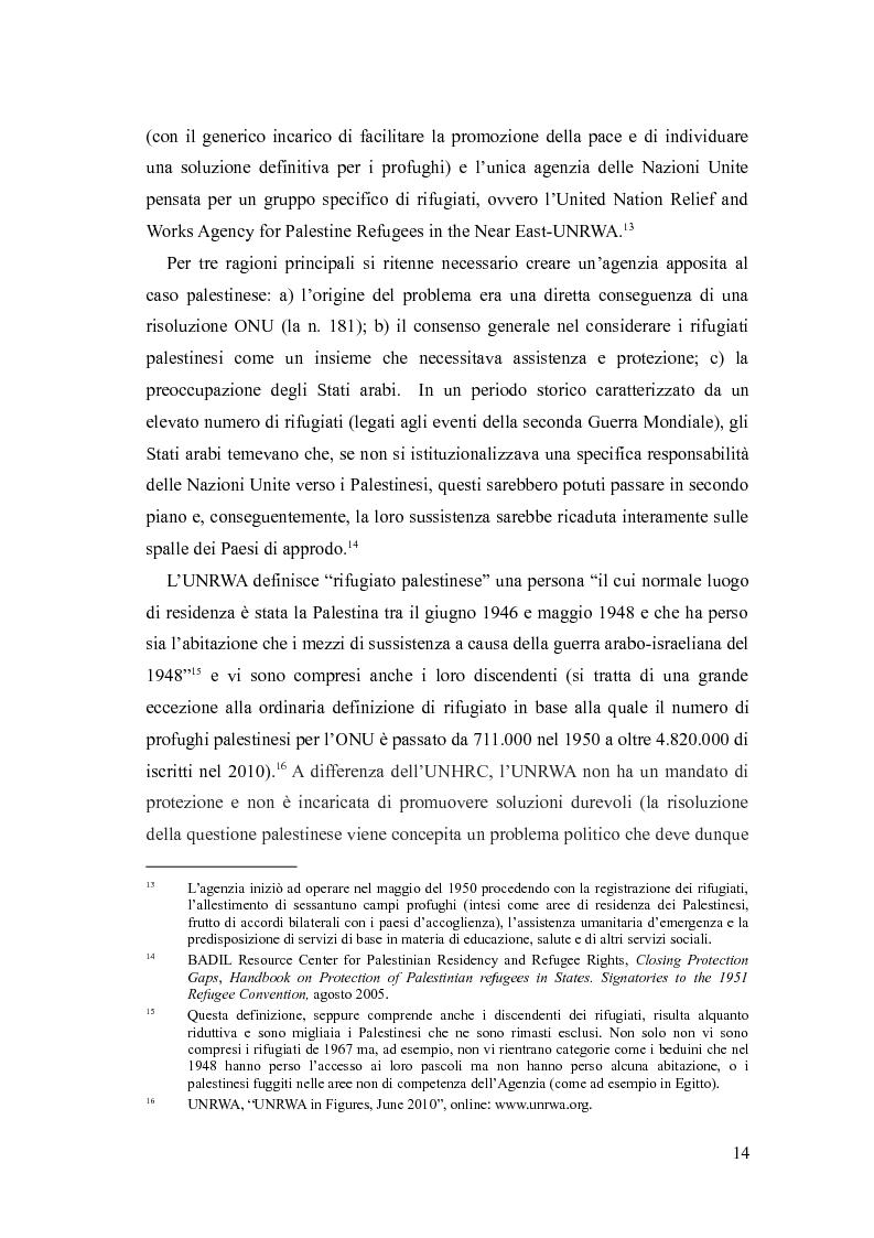 Anteprima della tesi: Identità, marginalizzazione e conflitto nei campi profughi palestinesi in Libano. Il campo di Nahr el-Bared., Pagina 6