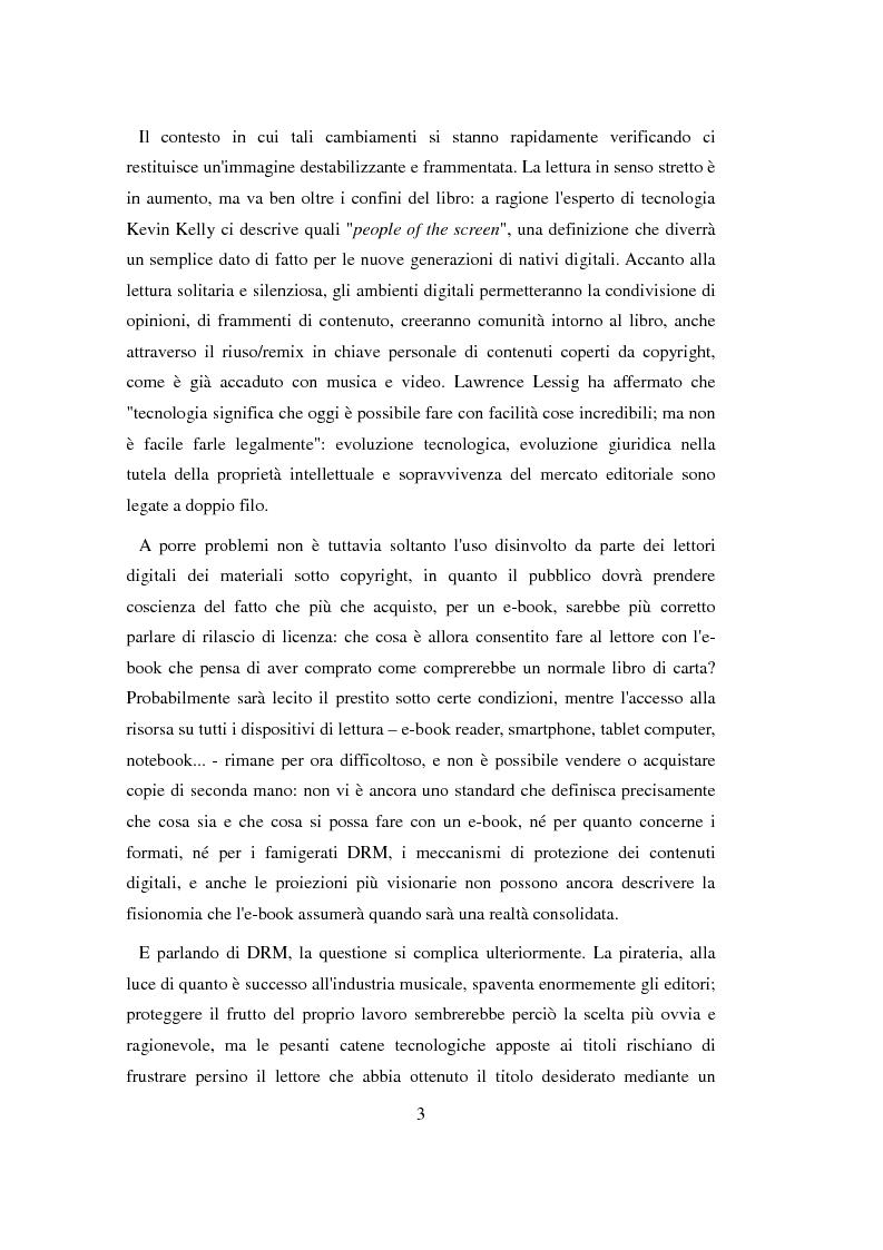 Anteprima della tesi: Google Books, book apps, e-readers: l'editore è davvero destinato a sparire?, Pagina 8