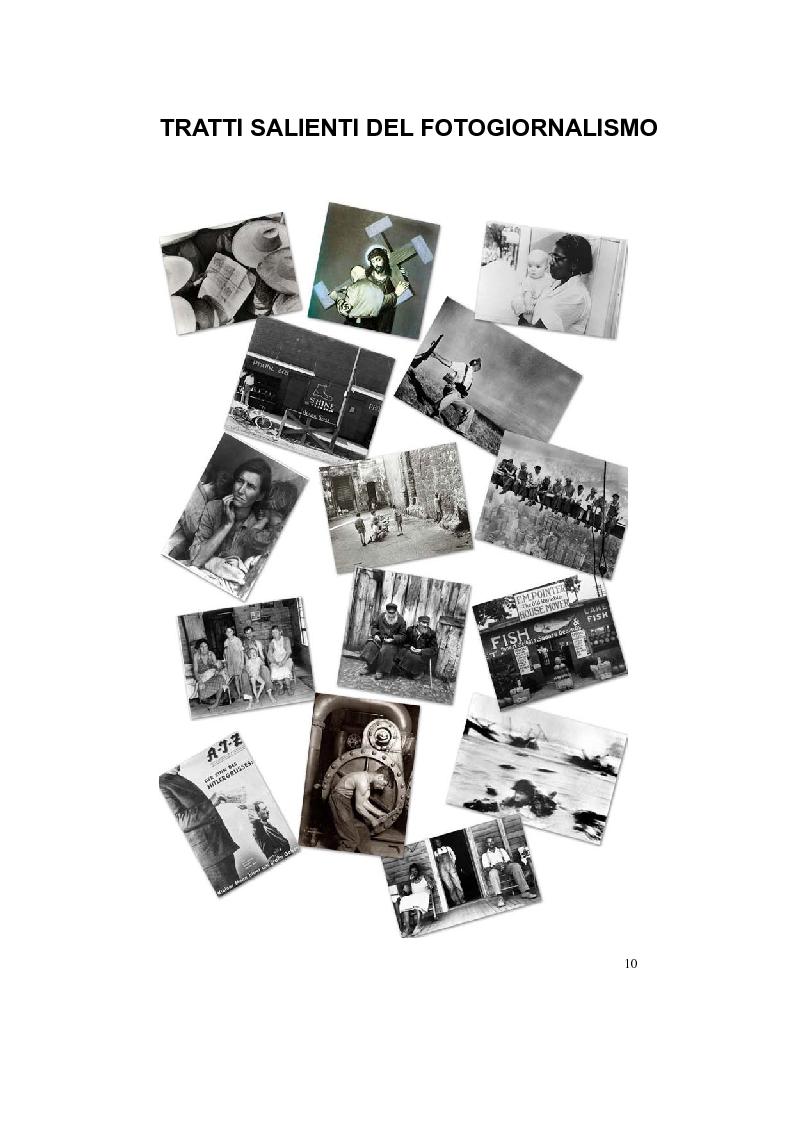 Anteprima della tesi: Dietro l'immagine: uno sguardo sociologico sul fotogiornalismo, Pagina 5