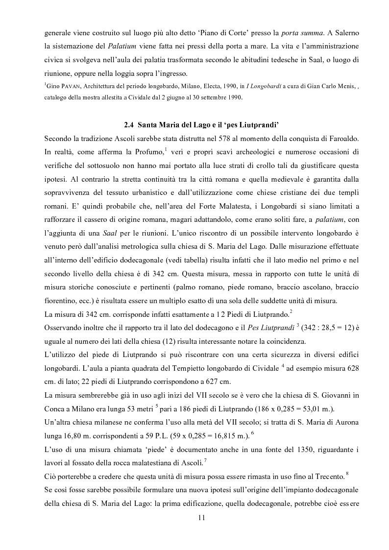 Anteprima della tesi: Il Forte Malatesta ad Ascoli Piceno: analisi strutturale e documentaria finalizzata ad una proposta di rifunzionalizzazione di tipo museale., Pagina 8