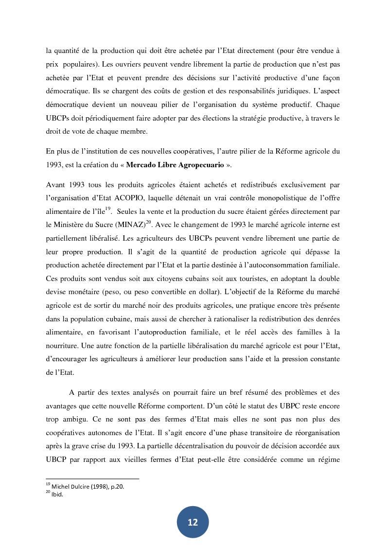 Estratto dalla tesi: Cultivons la ville. Les différents objectifs de l'agriculture urbaine à l'Havane et à Paris.