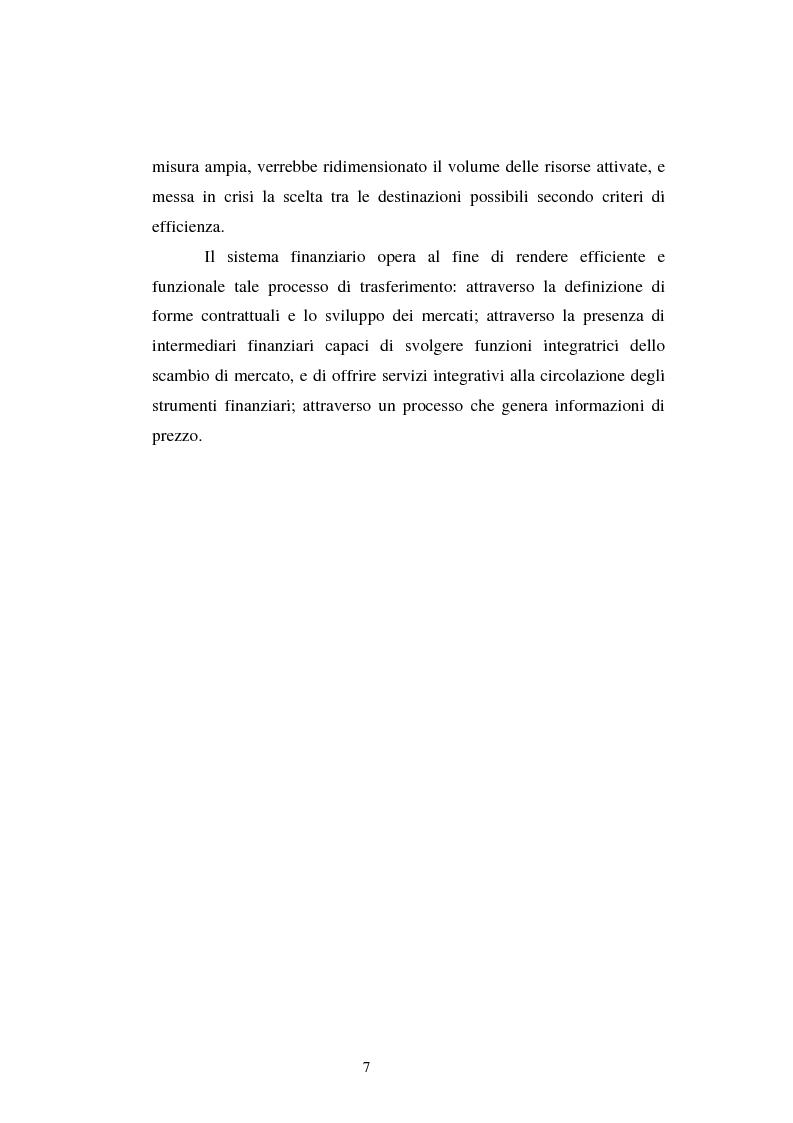 Anteprima della tesi: Le scelte di investimento e la gestione di portafoglio, Pagina 8