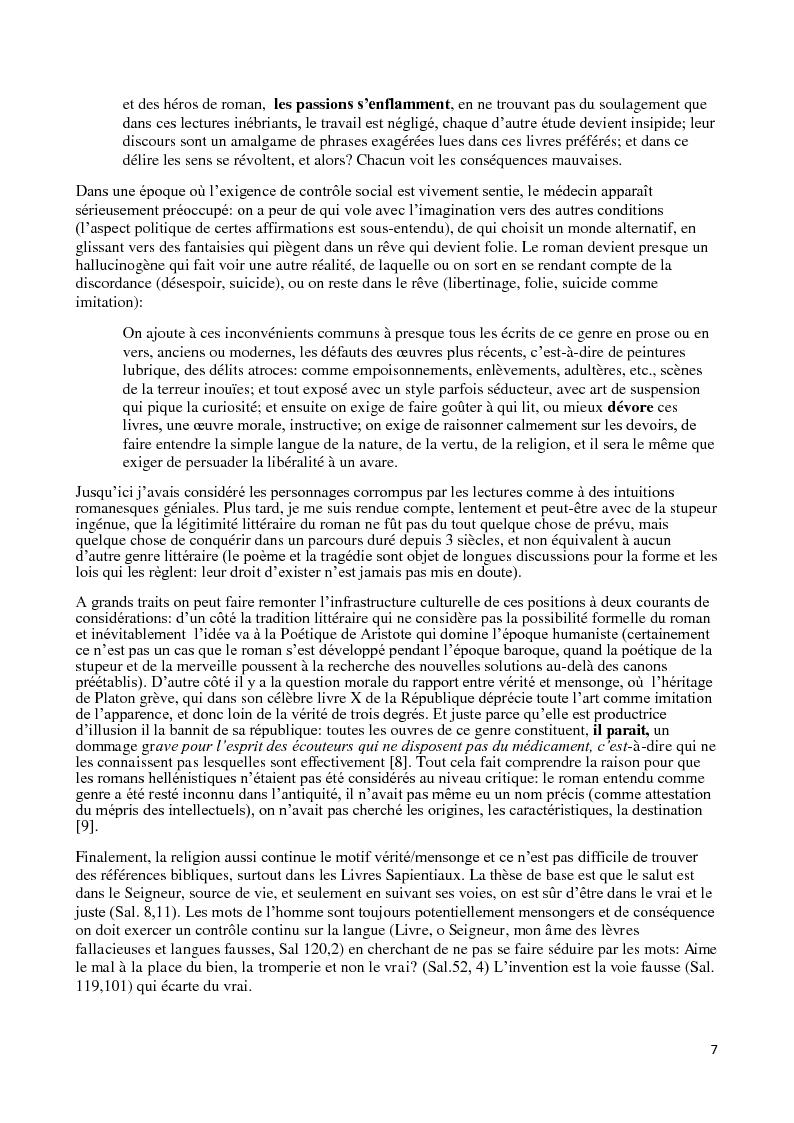 Anteprima della tesi: Le roman corrupteur. Pour et contre le roman en Italie entre XVIIIème et XIXème siècle, Pagina 4