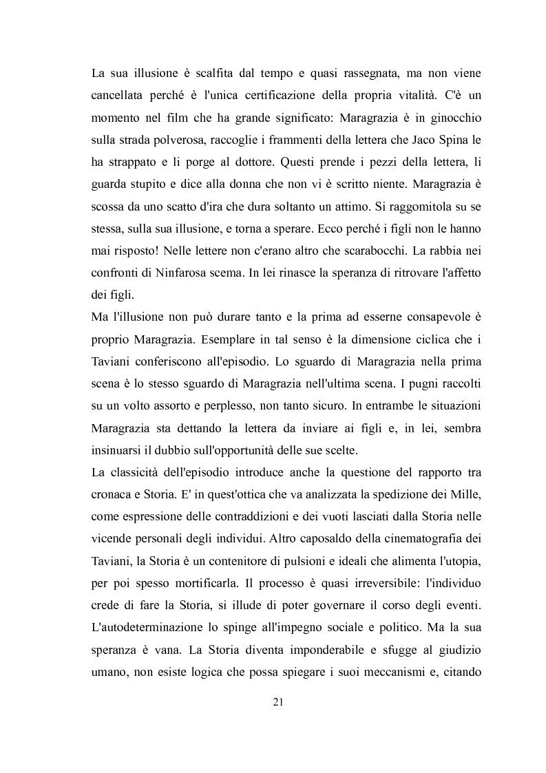 Estratto dalla tesi: ''Kaos'' e ''Tu ridi'': i fratelli Taviani interpretano Luigi Pirandello