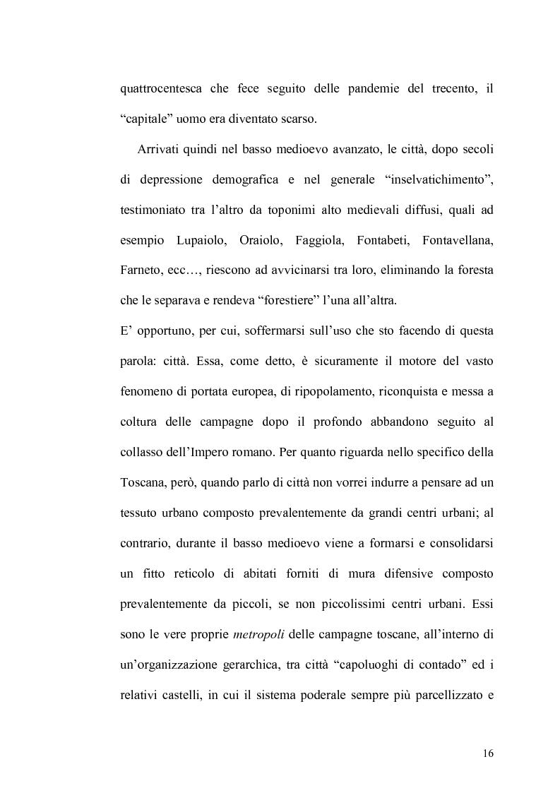 Anteprima della tesi: Il Contratto di Mezzadria nella Legislazione Statutaria Toscana tra XIII e XIV Secolo, Pagina 11