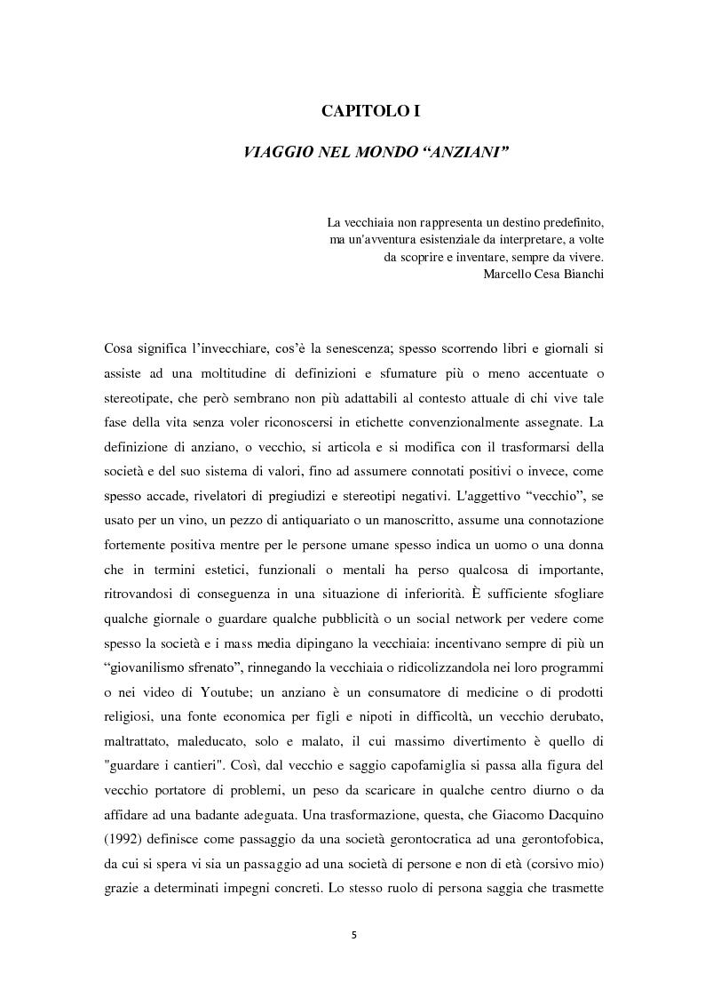 Anteprima della tesi: Percorsi di partecipazione over 60 : un contributo di ricerca empirica nel territorio di Cesena, Pagina 6