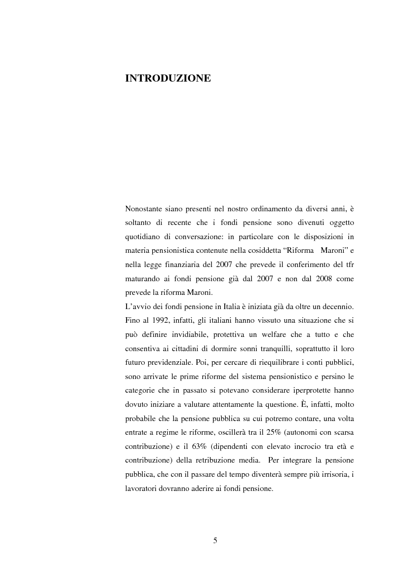 Tesi di laurea stock options