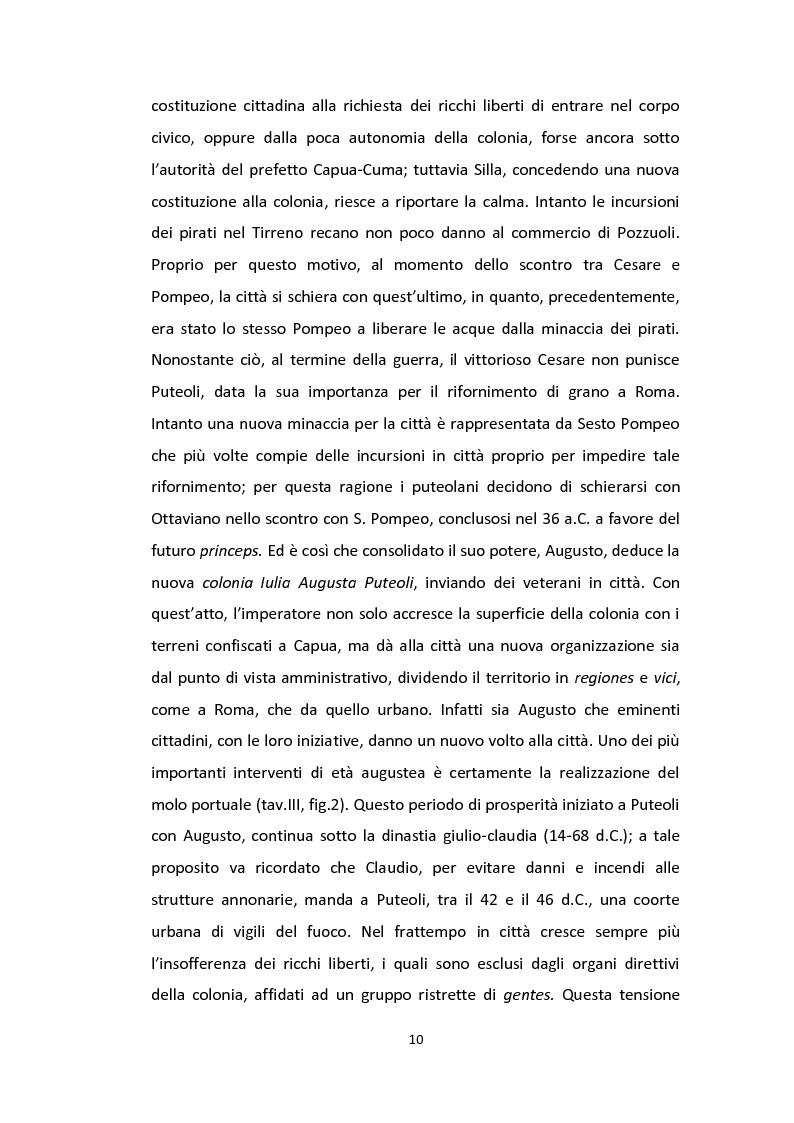 Anteprima della tesi: Anfiteatri nei Campi Flegrei, Pagina 10