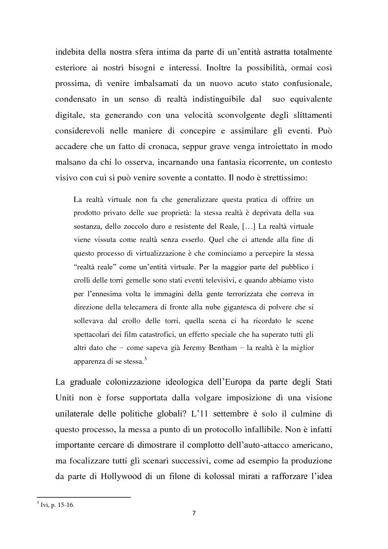 Anteprima della tesi: L'interazione del soggetto con il Cyberspazio. L'asse Lévy - Zizek - Lacan, Pagina 6