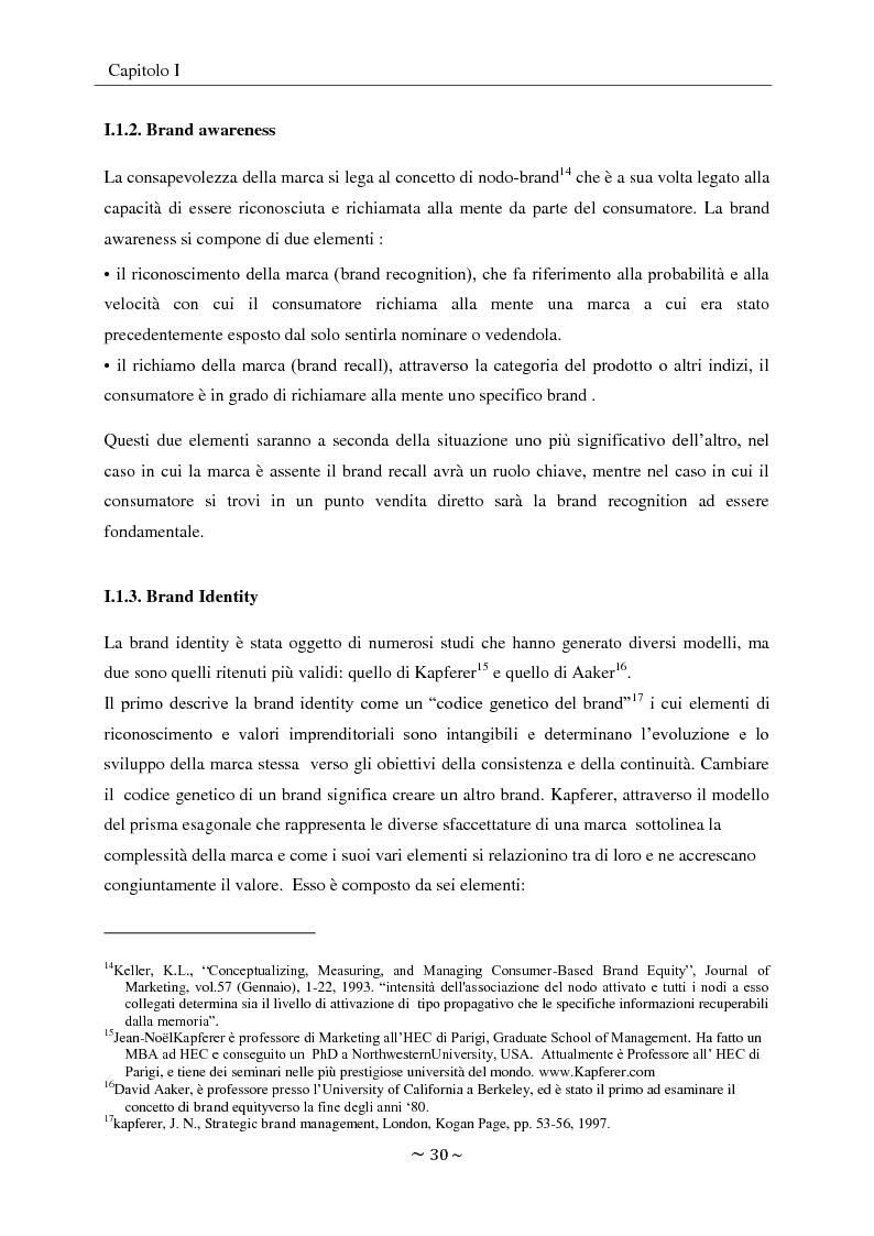 Anteprima della tesi: L'engagement del consumatore verso la marca:la prospettiva del mercato della comunicazione., Pagina 13
