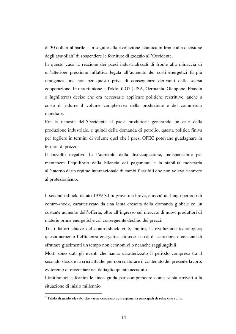 Anteprima della tesi: Inflazione importata, distribuzione del reddito ed equilibrio macroeconomico: effetti del nuovo modello contrattuale, Pagina 10