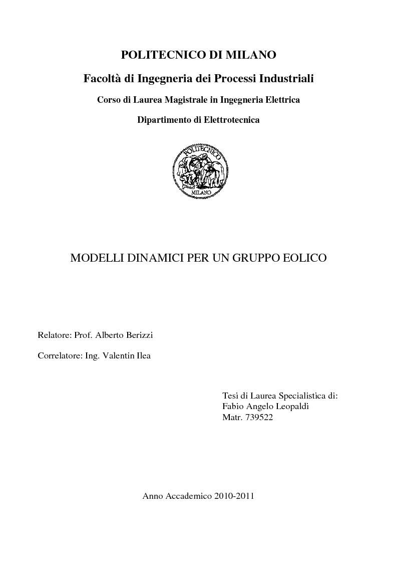 Politecnico di milano facolt di ingegneria dei processi for Politecnico milano iscrizione