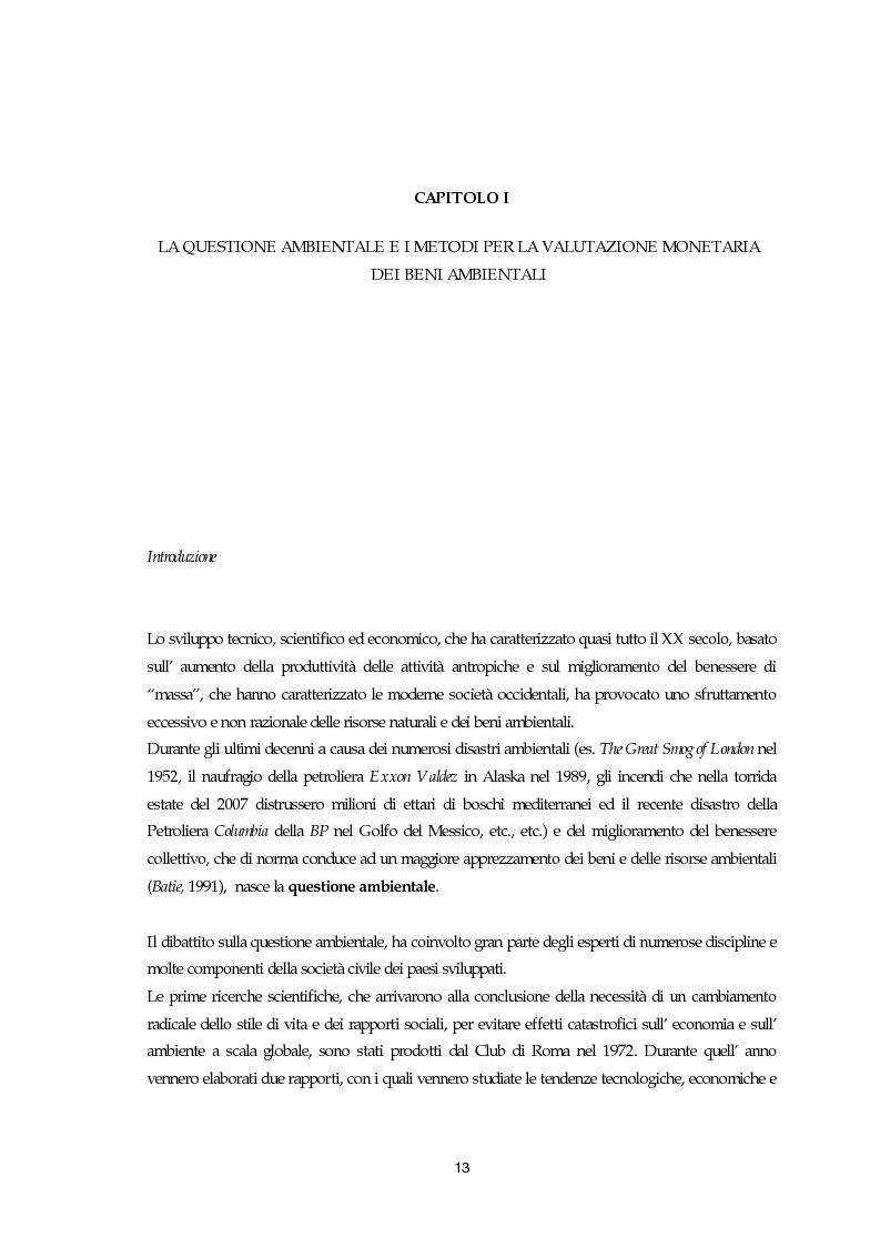 Stima del valore economico del Pinus leucodermis Antoine del Parco Nazionale del Pollino con il metodo della valutazione...