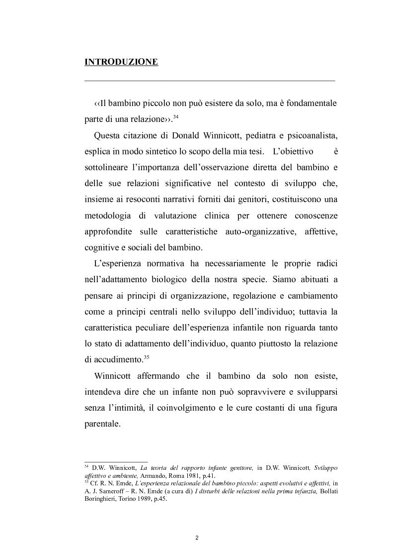 Maltrattamento e funzione riflessiva: caso clinico di Anna - Tesi di Laurea