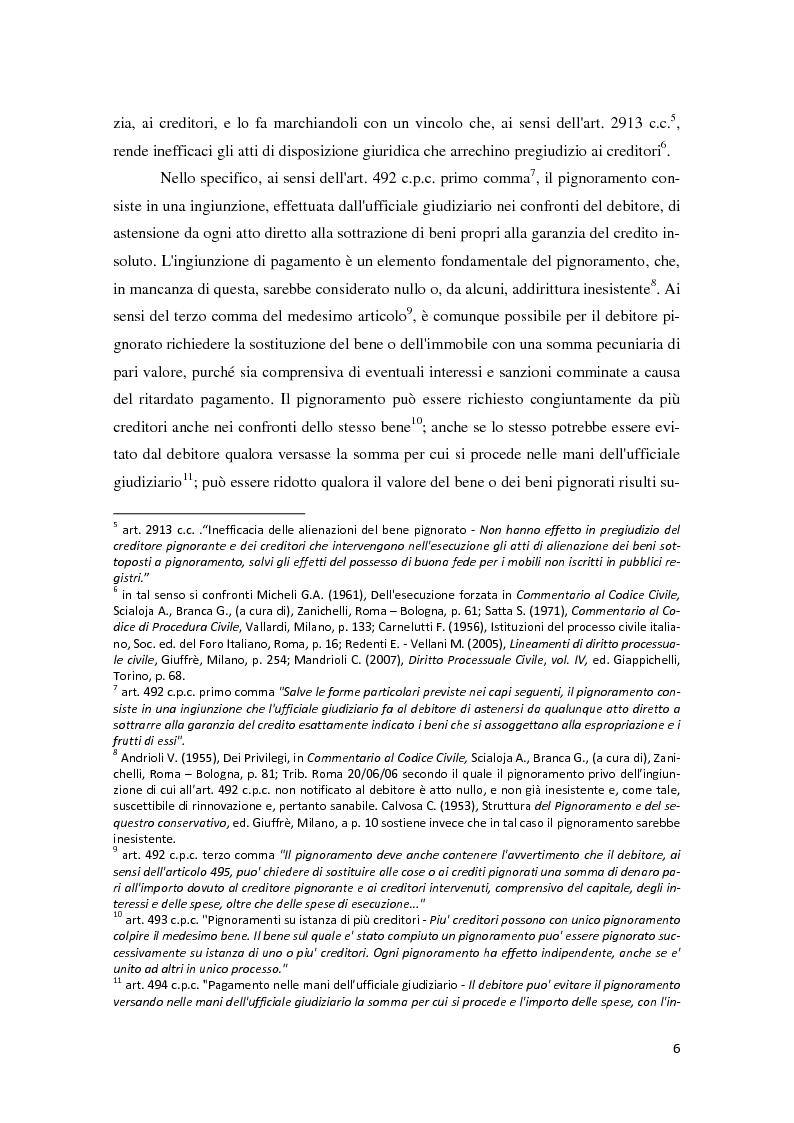 Anteprima tesi il piano di riparto nel fallimento - Ufficiale giudiziario pignoramento ...