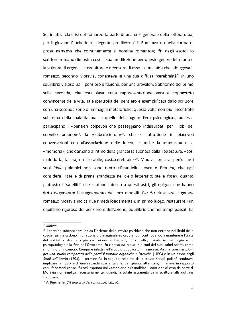 Anteprima della tesi: Moravia saggista in articoli noti o sconosciuti: 1927-1945, Pagina 8