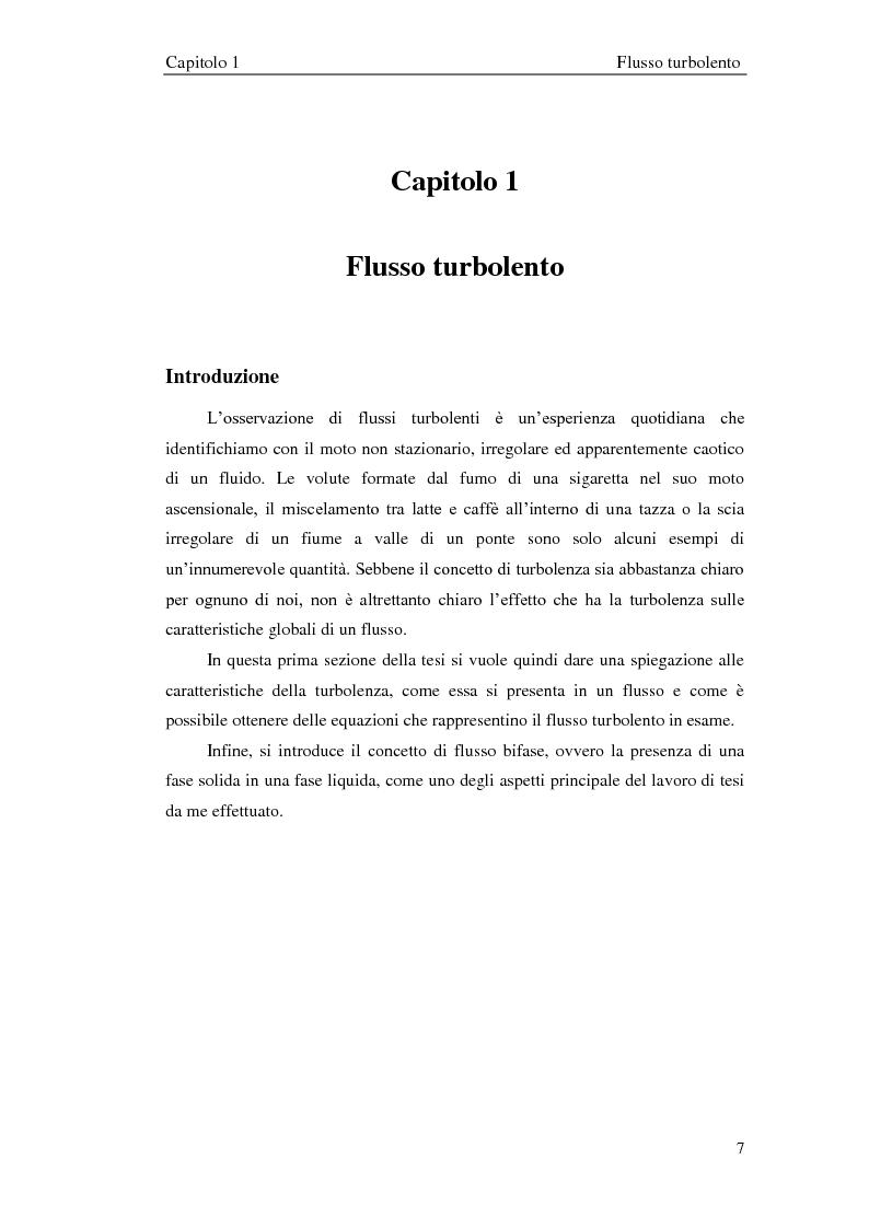 Anteprima della tesi: Studio sperimentale di un flusso bifase e caratterizzazione della dispersione di particelle solide, Pagina 8