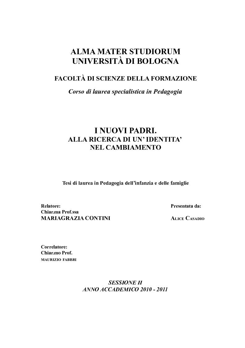 frontespizio tesi unipi giurisprudenza bologna - photo#40