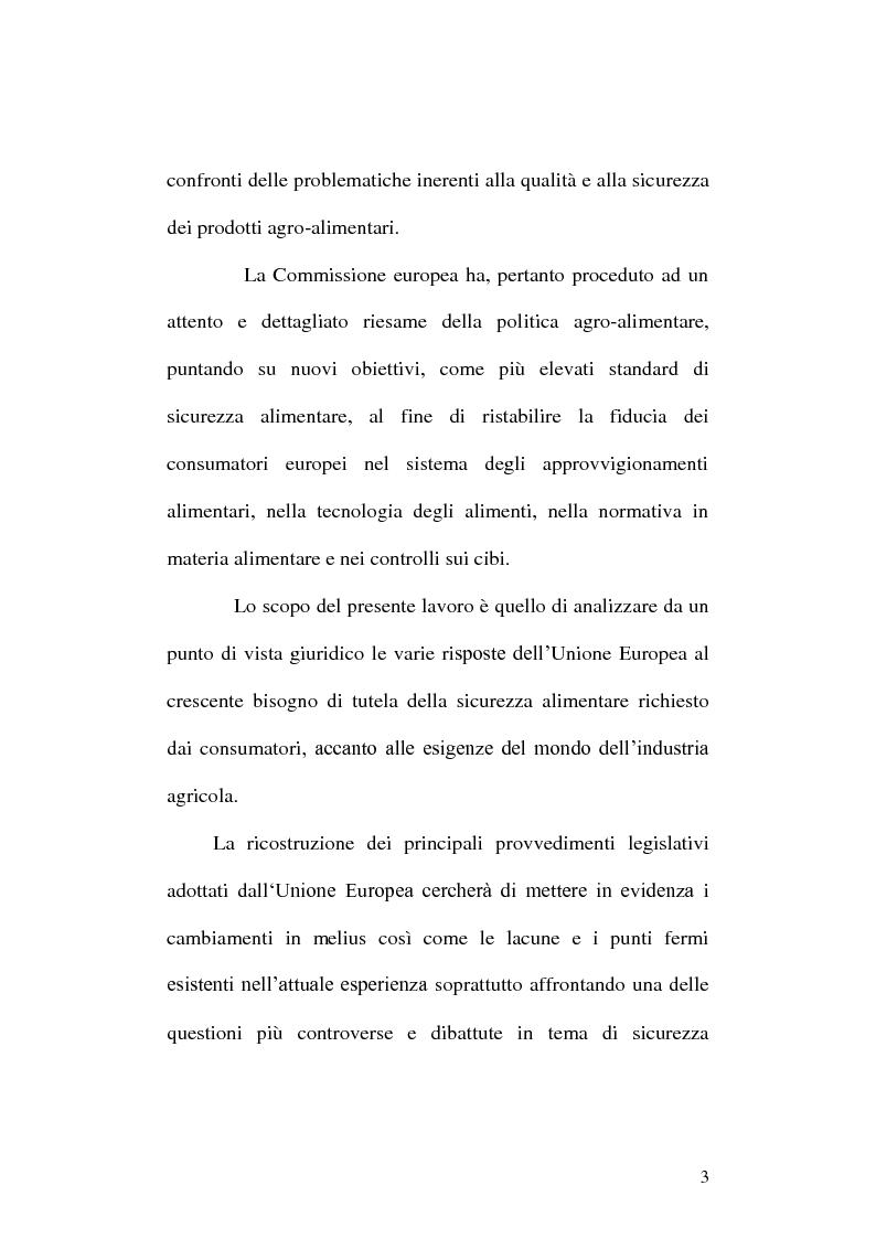 Anteprima della tesi: La disciplina giuridica degli Organismi Geneticamente Modificati: tra diritto dell'Unione Europea e diritto interno, Pagina 4