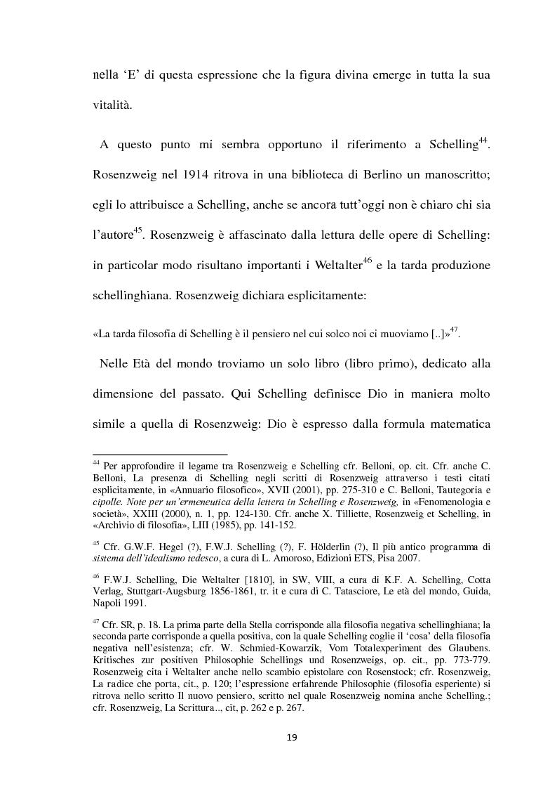 Estratto dalla tesi: Il linguaggio come Ereignis nel pensiero di Franz Rosenzweig