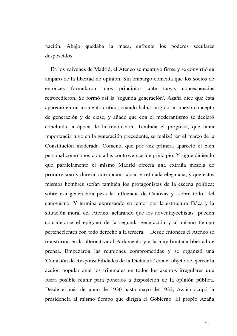 Anteprima della tesi: La razon olvidada - Los discursos políticos de Manuel Azaña, Pagina 16