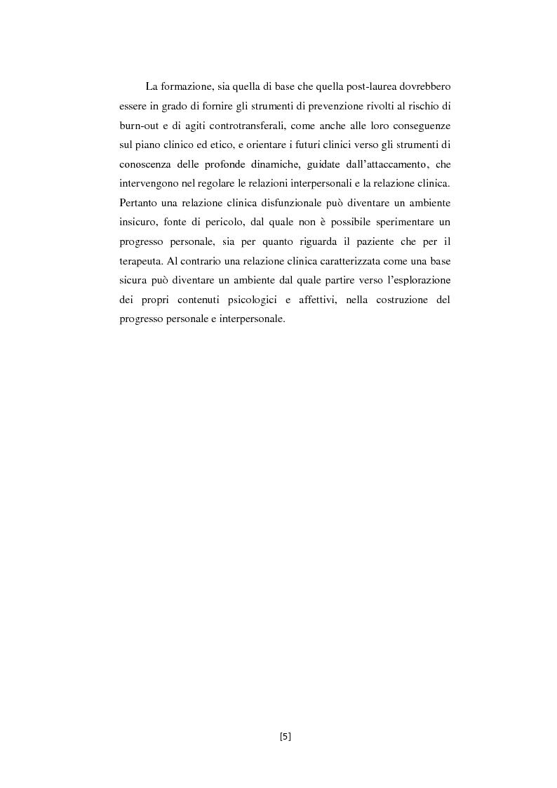Anteprima della tesi: Attaccamento e Mentalizzazione nella Relazione Terapeutica: I Dati della Ricerca Empirica, Pagina 6