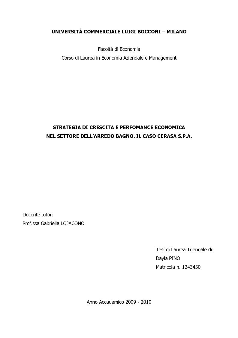 Arredo Bagno Economico Milano.Universita Commerciale Luigi Bocconi Milano Facolta Di Economia