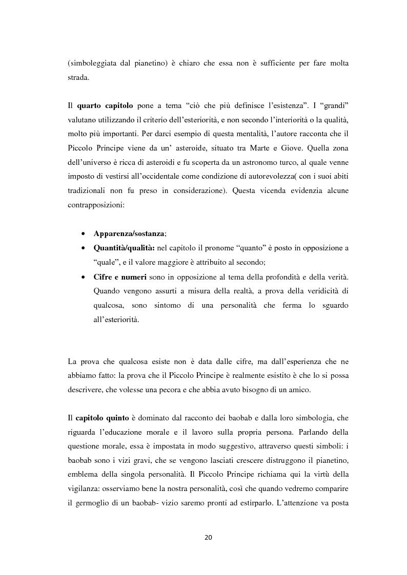 Estratto dalla tesi: Il piccolo principe tra lingue europee e dialetto