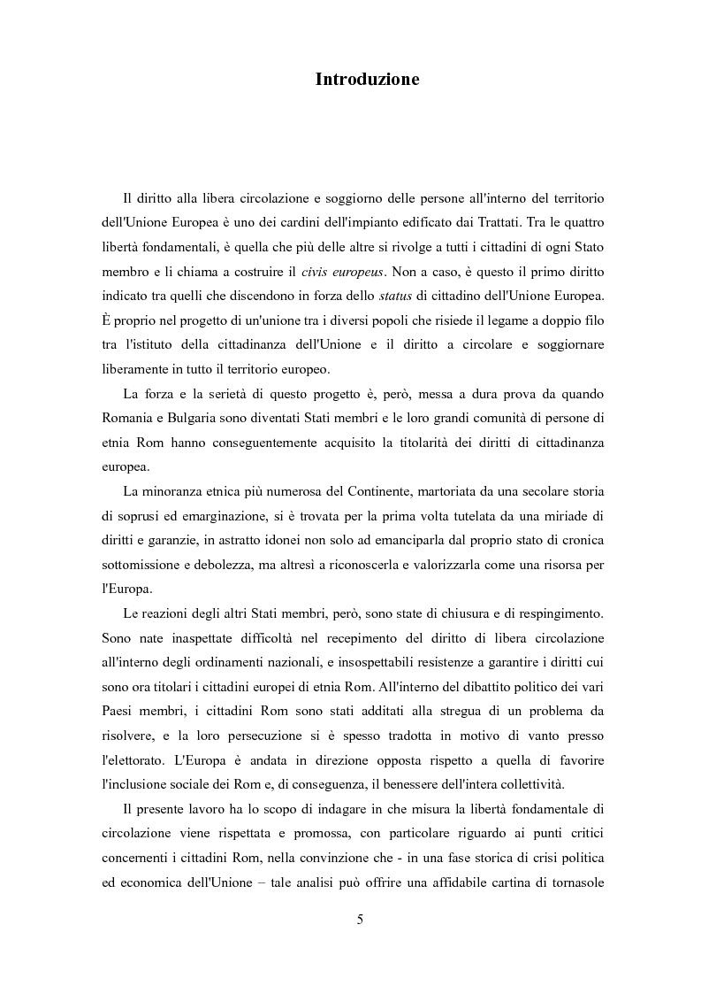 Allargamento dell\'Unione Europea ad Est e libera circolazione dei ...