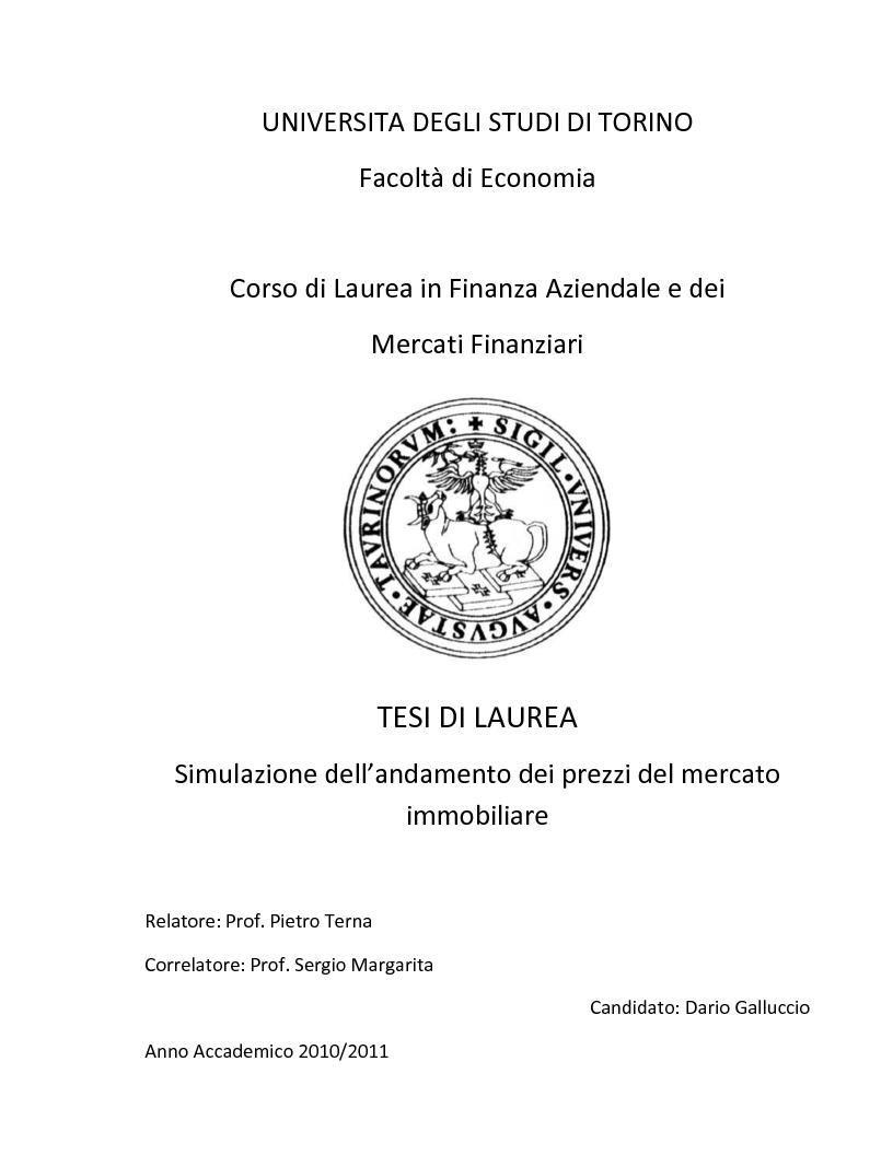 Homepage - Corso di studio in Finanza Aziendale e Mercati ...