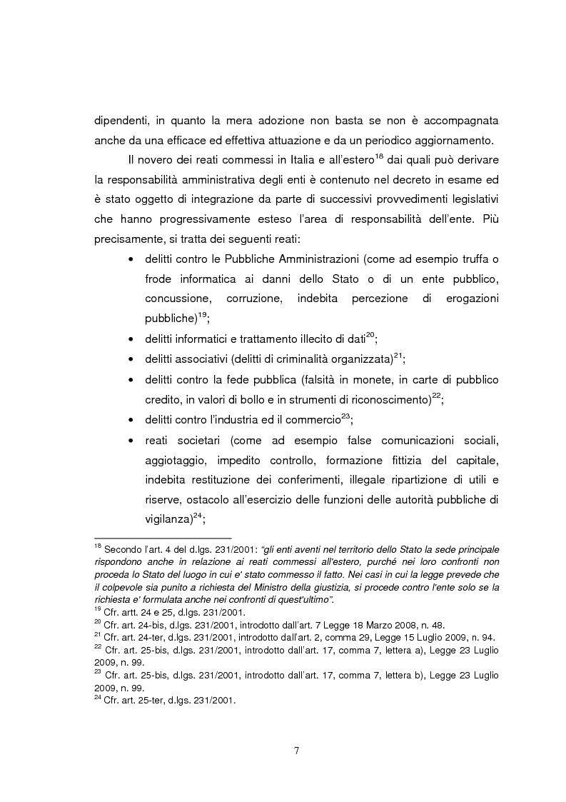 Anteprima della tesi: I modelli organizzativi applicati al mondo del calcio: imposizione o opportunità?, Pagina 6