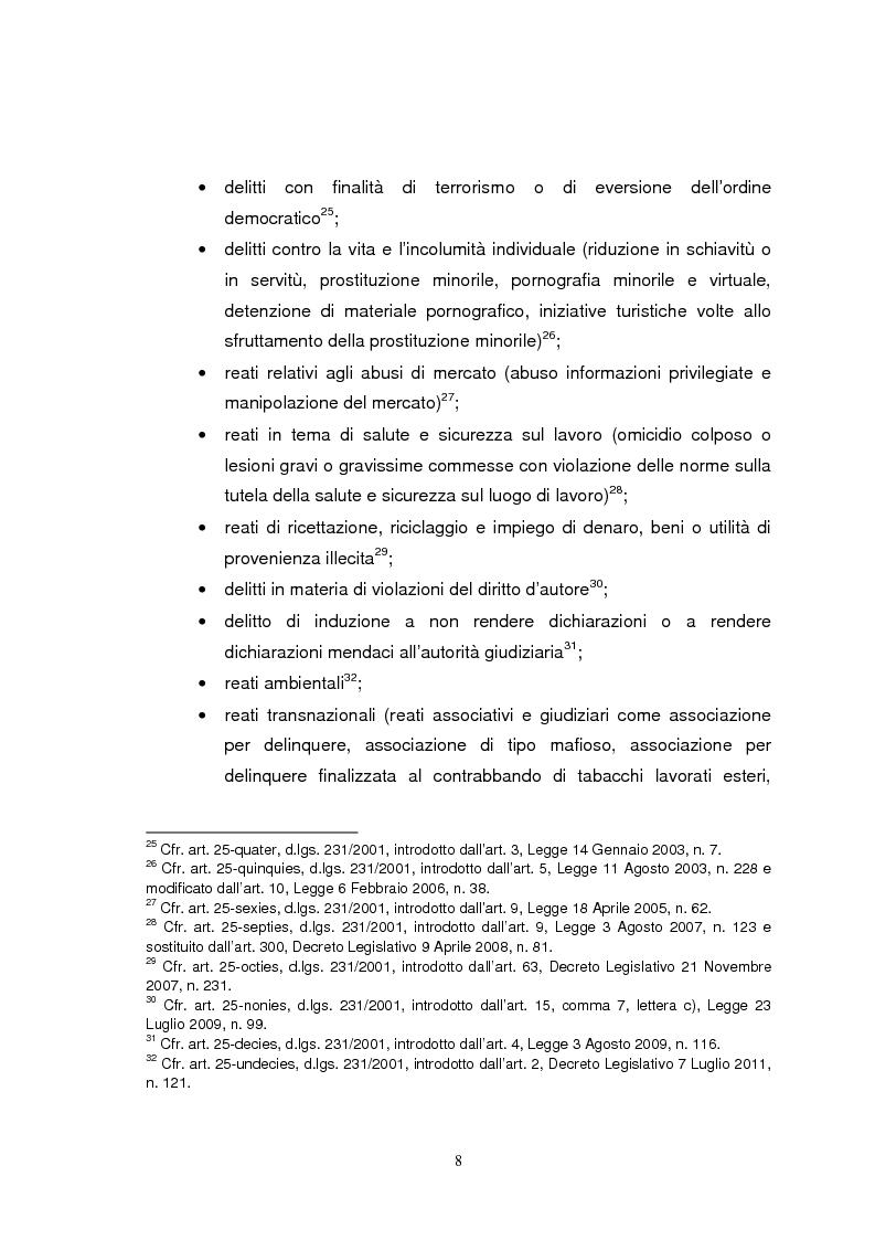 Anteprima della tesi: I modelli organizzativi applicati al mondo del calcio: imposizione o opportunità?, Pagina 7