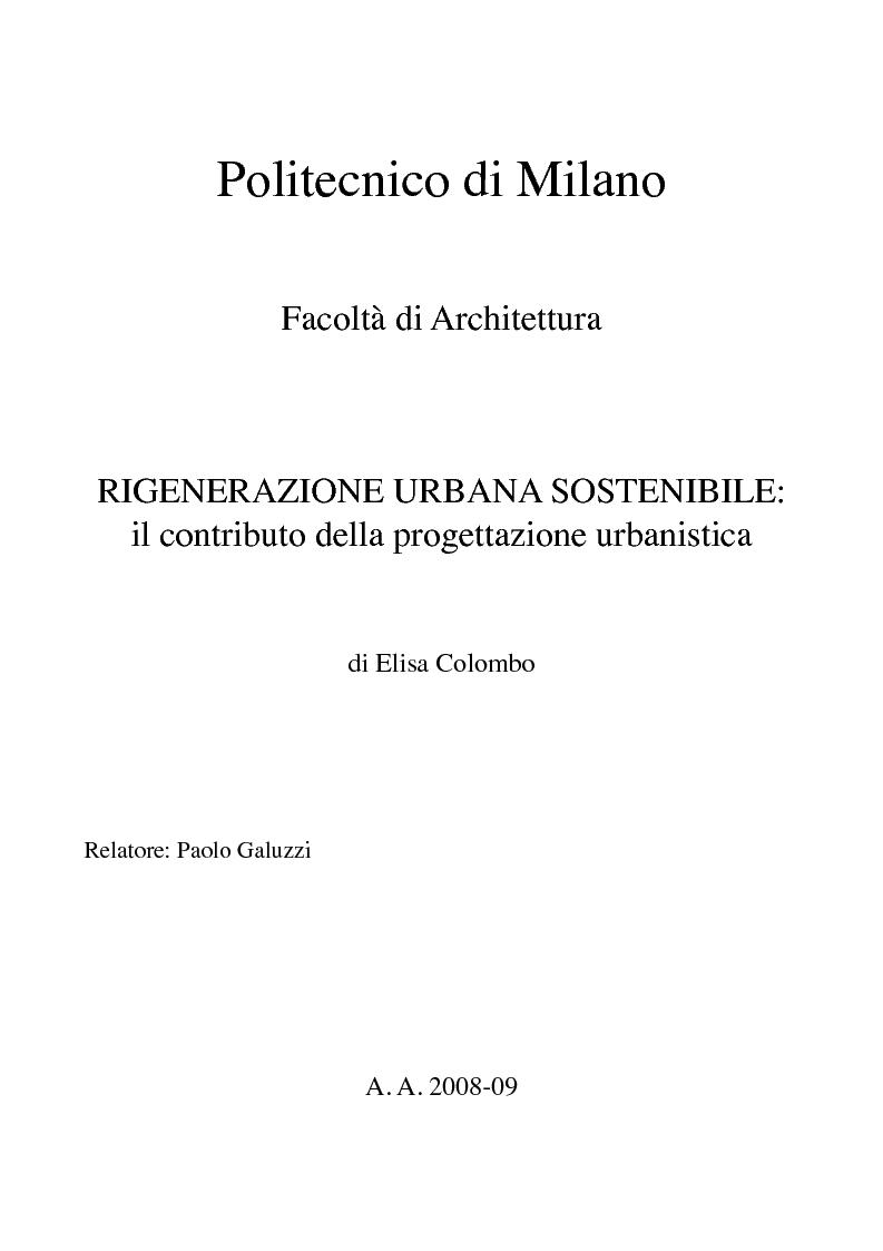 Politecnico di milanofacolt di architetturarigenerazione for Politecnico milano iscrizione