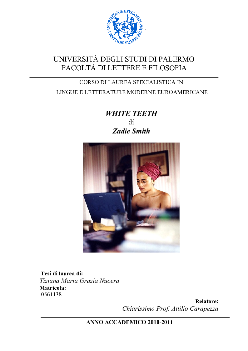 white teeth zadie smith pdf