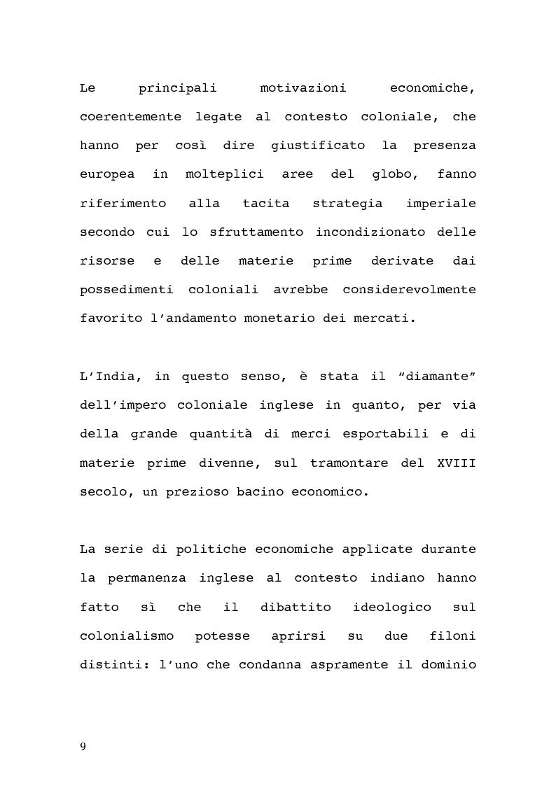 Anteprima della tesi: Economia coloniale e sfruttamento in India nel XX sec. Un caso particolare: la regione del Darjeeling., Pagina 7