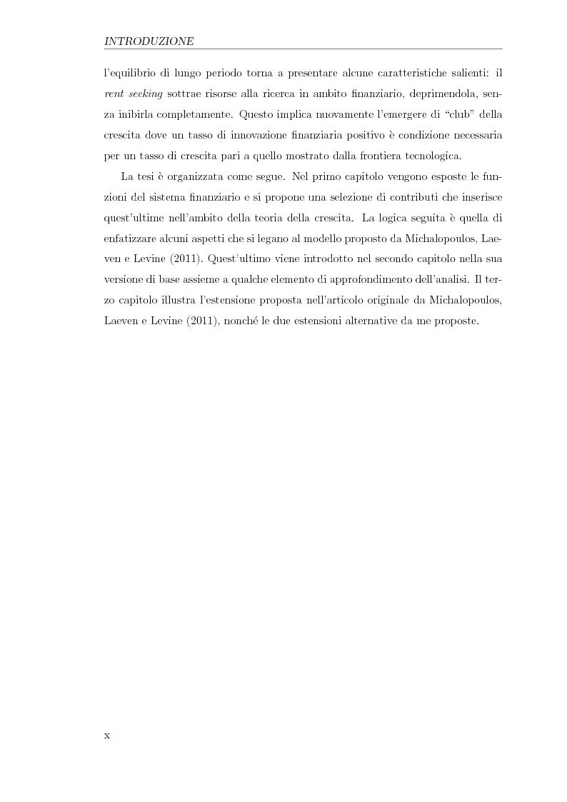 Anteprima della tesi: Innovazione finanziaria e crescita economica: un approccio teorico, Pagina 9