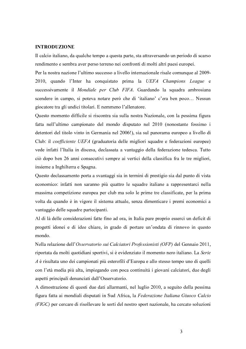 Un approccio statistico all'universo dei calciatori del campionato di calcio di Serie A - Tesi di Laurea