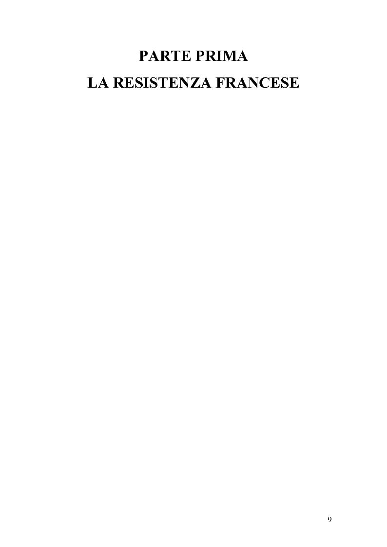 Anteprima della tesi: Vercors: le diverse forme della Resistenza attraverso una lettura dei romanzi, Pagina 10