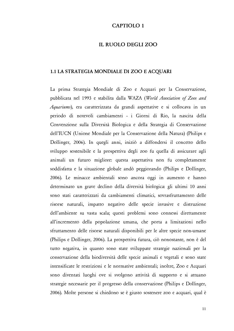 """Anteprima della tesi: Il comportamento di """"Panthera leo"""" nel nuovo exhibit naturalistico del Giardino Zoologico di Pistoia, Pagina 2"""
