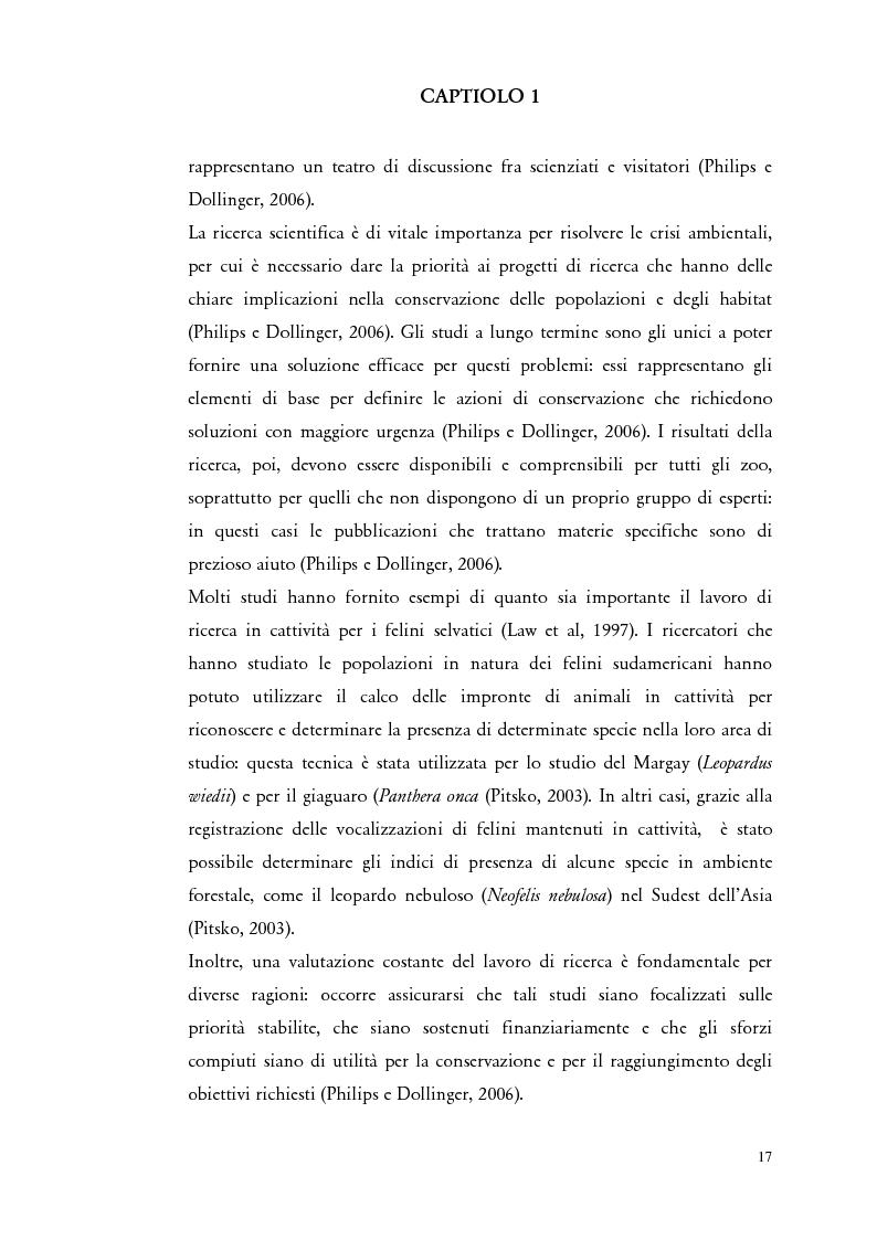 """Anteprima della tesi: Il comportamento di """"Panthera leo"""" nel nuovo exhibit naturalistico del Giardino Zoologico di Pistoia, Pagina 8"""