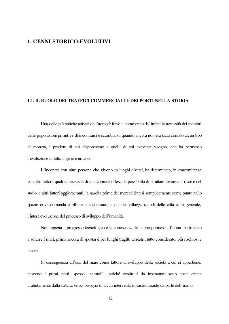 Anteprima della tesi: Inland terminals, interporti, distriparks come fattori di organico sviluppo decentrato del territorio e dell'economia dei trasporti, Pagina 5