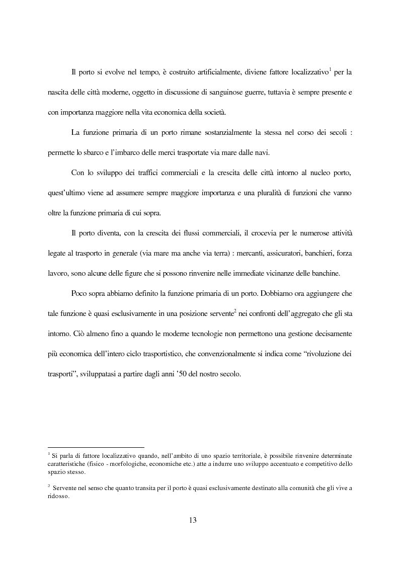 Anteprima della tesi: Inland terminals, interporti, distriparks come fattori di organico sviluppo decentrato del territorio e dell'economia dei trasporti, Pagina 6