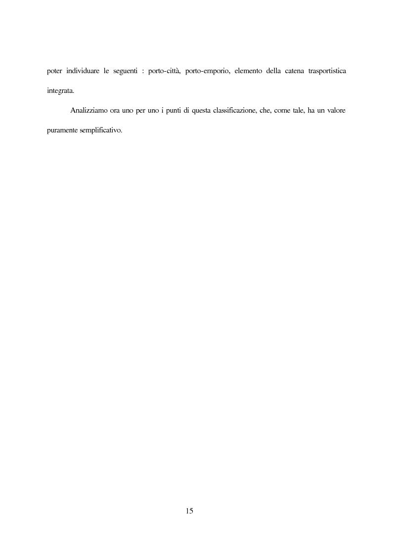 Anteprima della tesi: Inland terminals, interporti, distriparks come fattori di organico sviluppo decentrato del territorio e dell'economia dei trasporti, Pagina 8