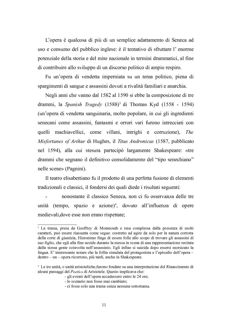 Anteprima della tesi: Seneca. Modello per il teatro elisabettiano, Pagina 10