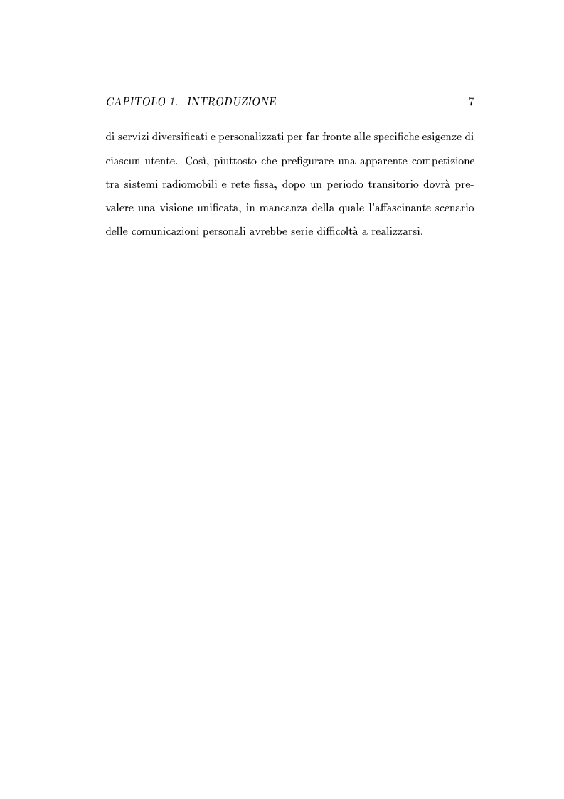 Anteprima della tesi: Caratterizzazione della probabilità di fuori servizio in una rete radiomobile cellulare, Pagina 11