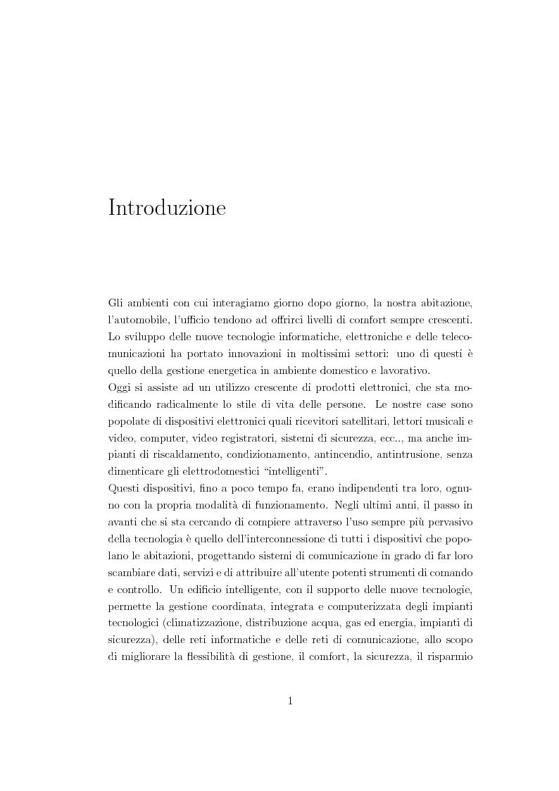 Anteprima della tesi: Criteri di pianificazione per l'ottimizzazione dei consumi energetici nell'ambiente domestico, Pagina 2